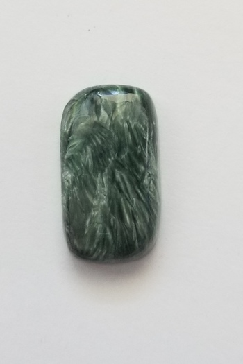 15.38 ct Natural Seraphinite Loose Gemstone
