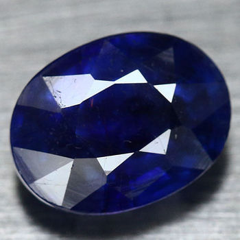 6.78 ct Natural Sapphire Oval Cut Loose Gemstone