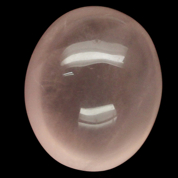 8.55 ct Natural Rose Quartz Oval Loose Gemstone