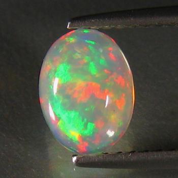 1.95 ct Natural Welo Opal Oval Cut Loose Gemstone
