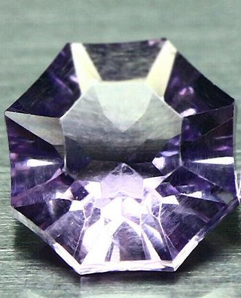 1.18 ct Natural Amethyst Fancy Cut Loose Gemstone