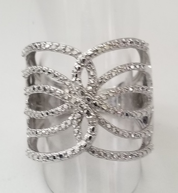 New Natural Diamond Ring Size 6