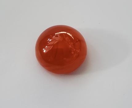 13.48 ct Natural Carnelian Round Cut Loose Gemstone