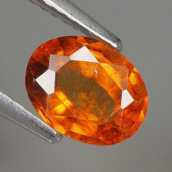 VS Natural Spessarite Garnet Oval Cut Loose Gemstone