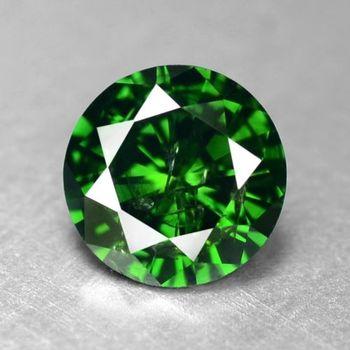 .52 ct Natural Green Diamond Round Cut Loose Gemstones