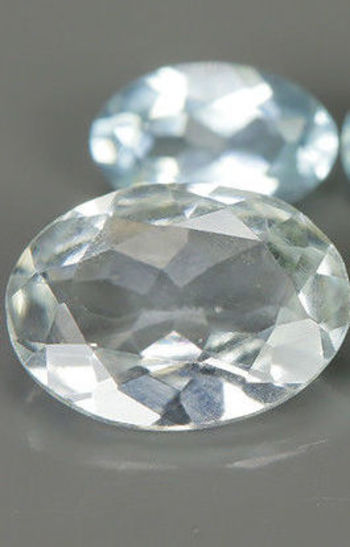 .77 ct Natural Aquamarine Oval Cut 2 Pieces Loose Gemstone
