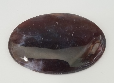 55.39 ct Natural Moss Opal Oval Cut Loose Gemstone