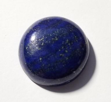 33.45 Natural Lapis Lazuli Round Cut Loose Gemstone