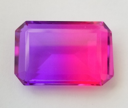 41.89 ct Bi Color Purple & Pink Quartz Quartz Loose Gemstone