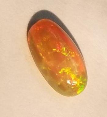 .95 ct Natural Welo Opal Oval Cut Loose Gemstone