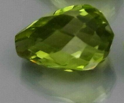 1.06 ct Natural Peridot Briolette Cut Loose Gemstone