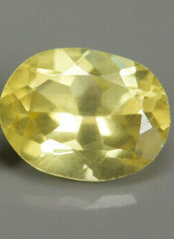 1.12 ct Natural Yellow Apatite Oval Cut Loose Gemstone