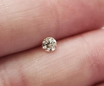 .20 ct Natural J Color Diamond Round Cut Loose Gemstone