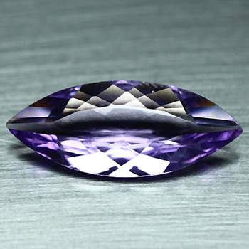 2.06 ct VVS Natural Amethyst Marquise Cut Loose Gemstone