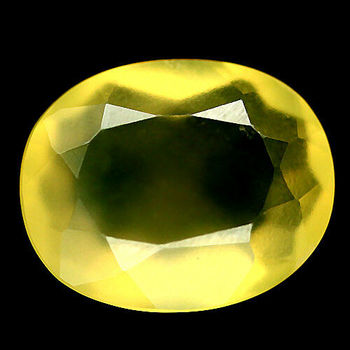 2.39 ct Natural Mexican Fire Opal Cut Loose Gemstone