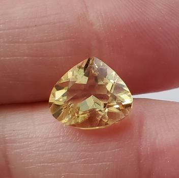 3.16 ct Natural Citrine Pear Cut Loose Gemstone