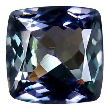 .65 ct VVS Natural Tanzanite Cushion Cut Loose Gemstone