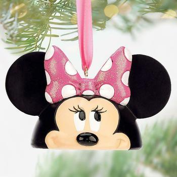 WDW Disney Minnie Mouse Ear Hat Christmas Ornament NWT