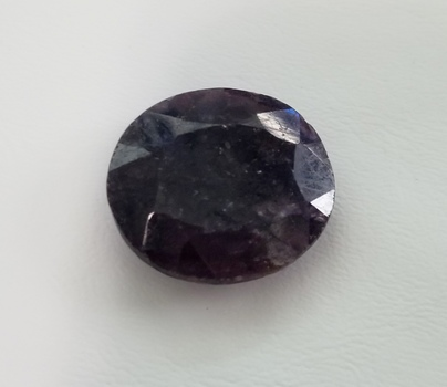 54.77 ct Natural Sapphire Oval Cut Loose Gemstone