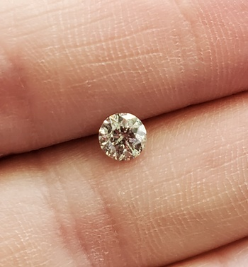 .32 ct Natural Diamond Round Cut Loose Gemstone