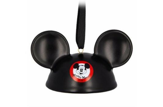NWT Disney Parks The Mickey Mouse Club Mouseketeer Ear Hat Ornament Porcelain