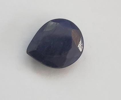 5.63 ct Natural Sapphire Pear Cut Loose Gemstone