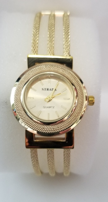 Brand New Gold Plated Stainless Steel Watch