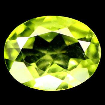6x4mm VVS Natural Peridot Oval Loose Gemstone