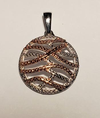 No Reserve Natural Diamond Pendant