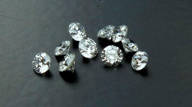 10 Pieces Natural Diamond Round Cut Loose Gemstones
