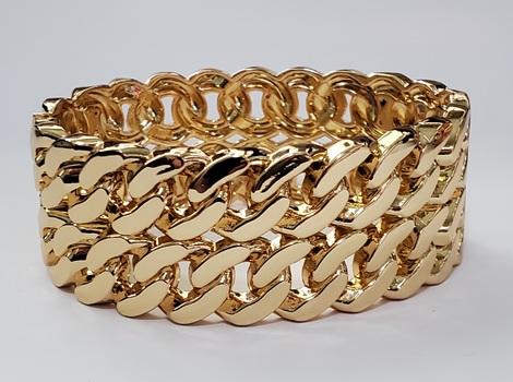 No Reserve Chain Link Hunged Bangle Bracelet