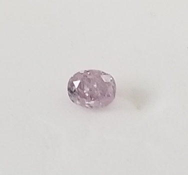 Rare .14 ct Natural Pink Diamond Oval Cut Loose Gemstone