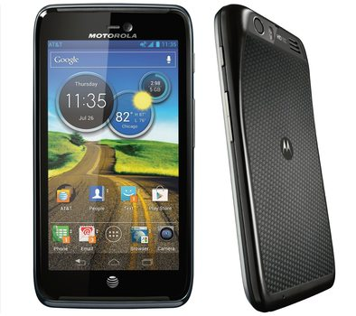 "UNLOCKED - Motorola ATRIX HD MB886 4G LTE 4,5"" Android  Smartphone"