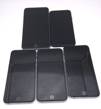 Lot of 5 - Apple iPhones (FOR PARTS OR REPAIR)