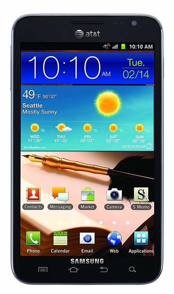 Samsung Galaxy Note 16GB(SGH-i717) Unlocked Android Smartphone