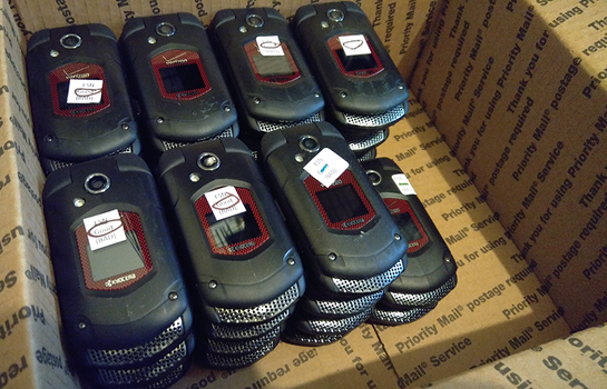 Lot of 30 - Kyocera DuraXV E4520