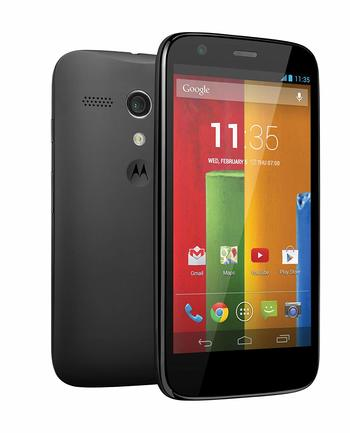 """Boost Mobile - Motorola G XT1031 4.5"""" Android Smartphone"""