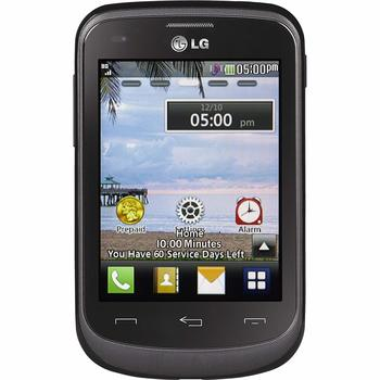 TracFone - LG 306G - Basic Cell Phone