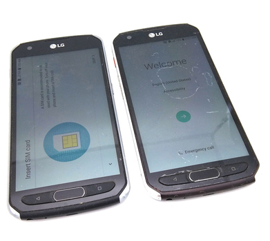 Lot of 2 - LG Venture Android Smartphones