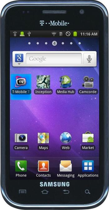 """T-Mobile - Samsung Galaxy S SGH-T959 4"""" T-Mobile Android Smartphone"""