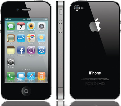Unlocked - Apple iPhone 4 32GB Smartphone