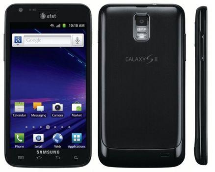 464cf883d5e Unlocked Samsung Galaxy S2 I727 Skyrocket Black 16GB Andrid Smartphone
