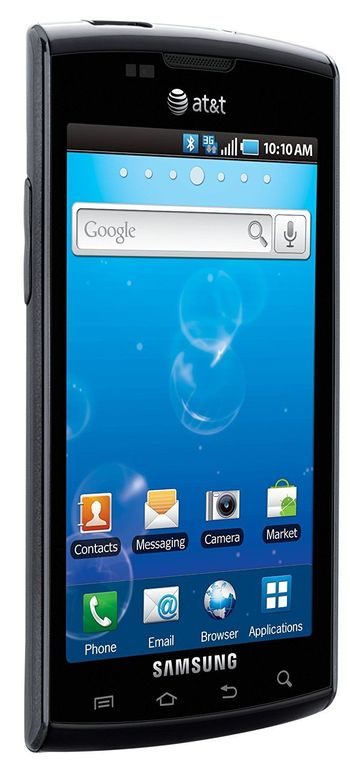 UNLOCKED - Samsung Captivate SGH-I897 - 16GB AT&T T-Mobile Android Smartphone