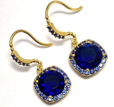 .925 Sterling Silver, 5.50ctw (AAA Grade) CZ's Earrings