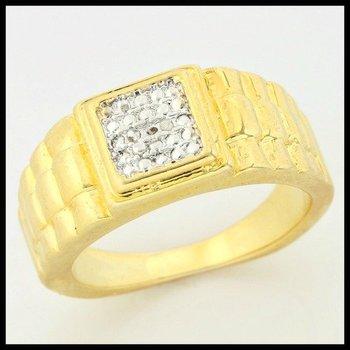 0.01ctw Genuine Diamonds Ring size 7.5