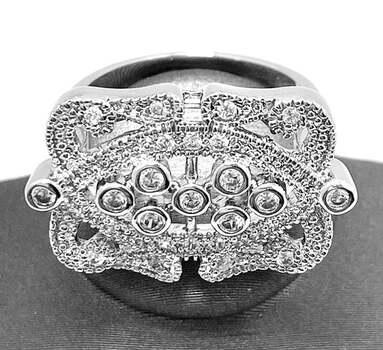 0.75ctw White Sapphire Ring