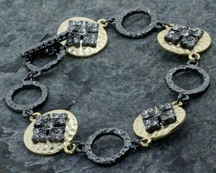 1.05ctw White Cubic Zirconia Bracelet
