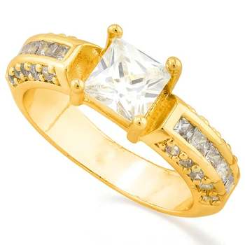 1.10ctw White Sapphire Ring Size 6