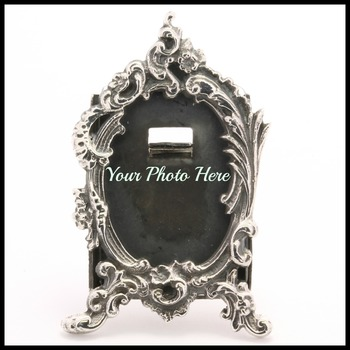 11.4 Grams Solid .925 Sterling Silver Photo Frame