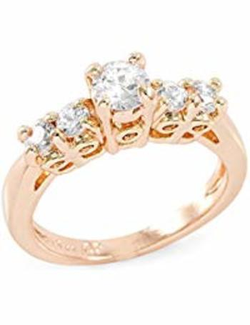 1.20 CTTW Round Brilliant Cubic Zirconia CZ Engagement Ring Size 7